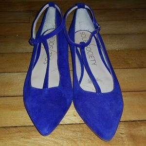 Cobalt Sole Society flats size 7